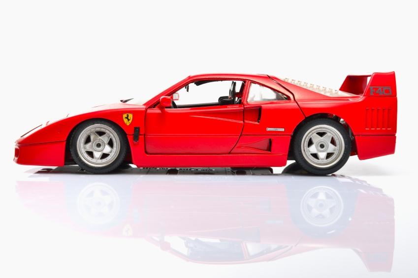 Ferrari F40 modell car