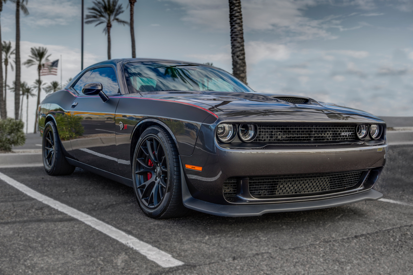 The new Dodge Challengers have HEMI engines, producing up to 707hp