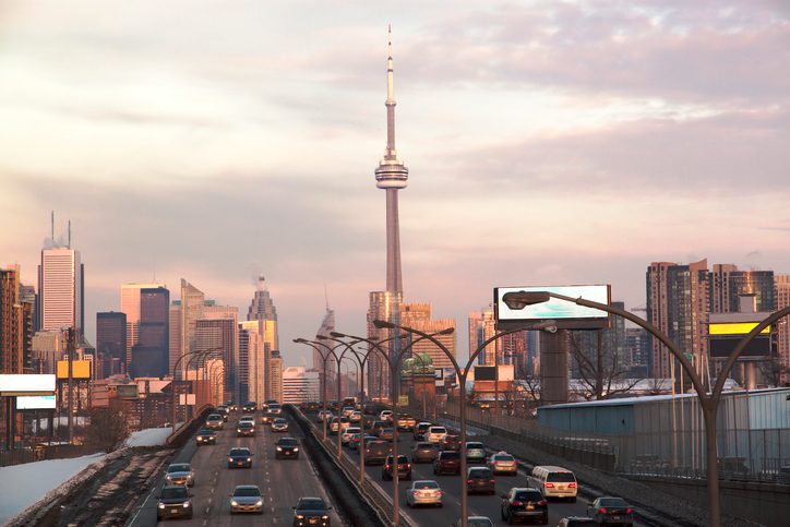 Dispatchers know that Toronto traffic can get pretty bad