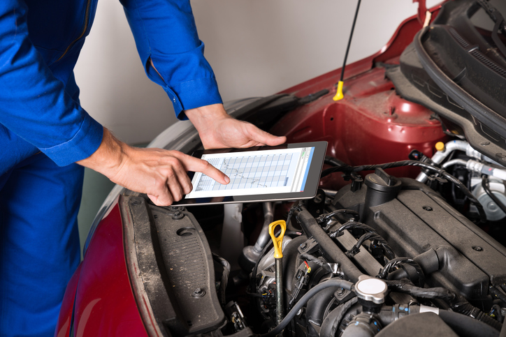 Future mechanics might work with even more electronic diagnostic tools