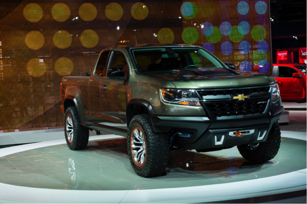 2016 Chevy Colorado Diesel Pickup