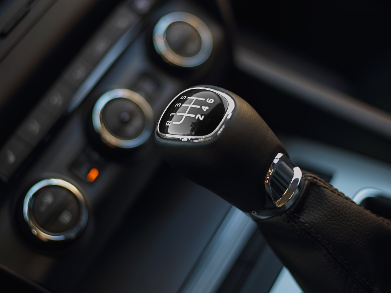 Shorter shifters make for faster gear changes and faster cars