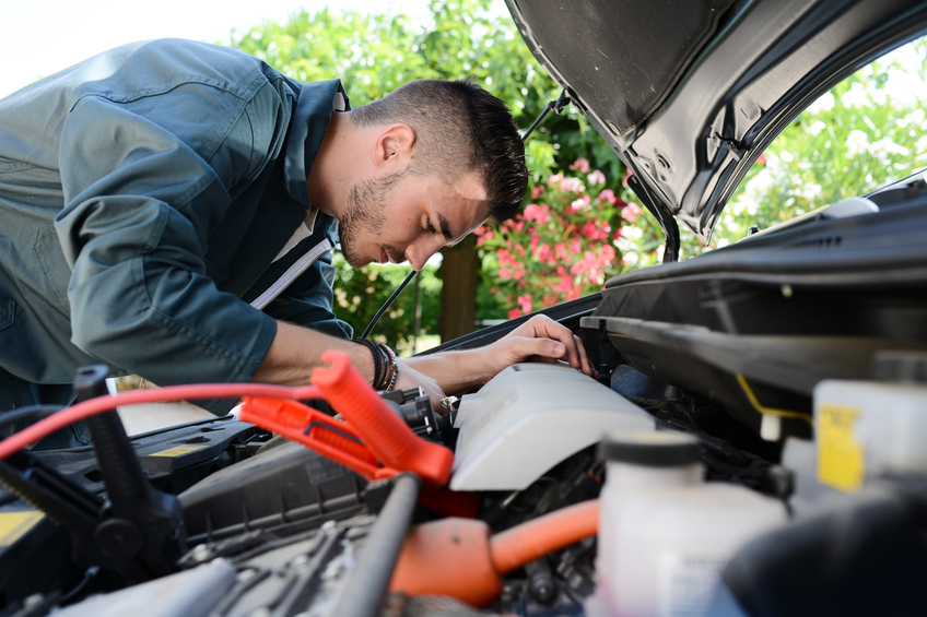 Auto mechanic school will teach you how to safely handle, test, and replace an alternator