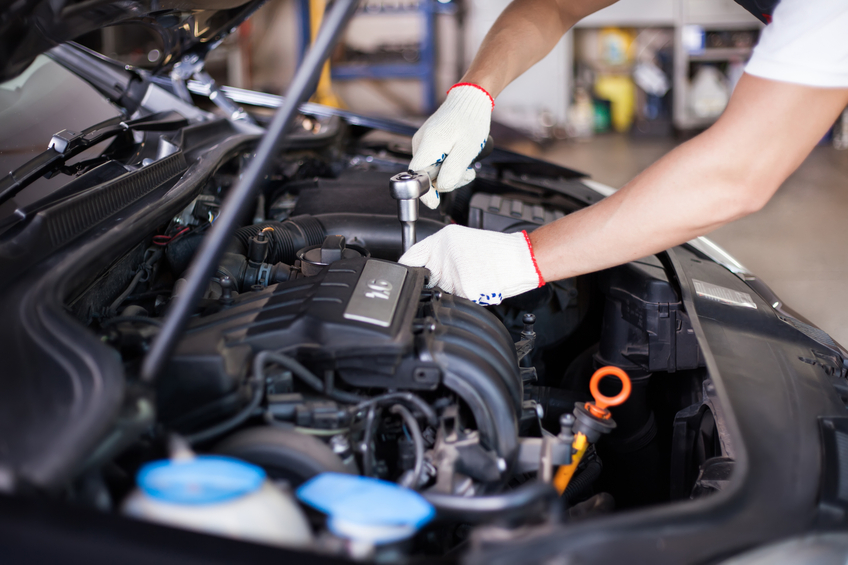 An auto service advisor knows that the costs of parts and labour both need to be taken into account