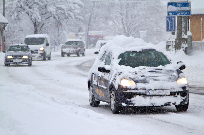 Winter tires help drivers stop on time, even in the snow