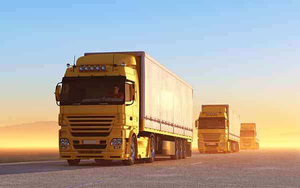 Fleet coverage is one of the main components of truck insurance