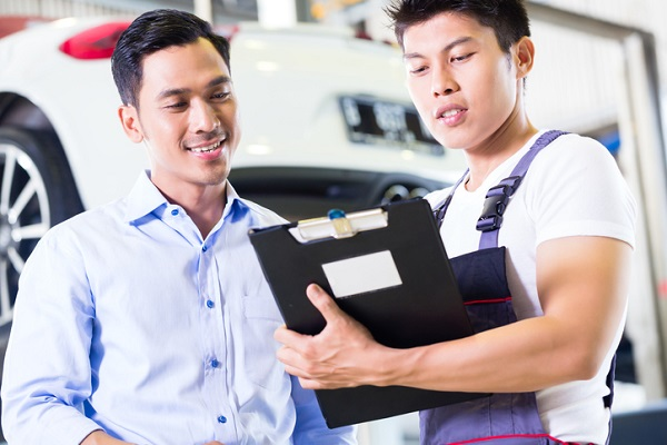 Automotive work orders can offer a complete rundown of the repair job, including parts and cost