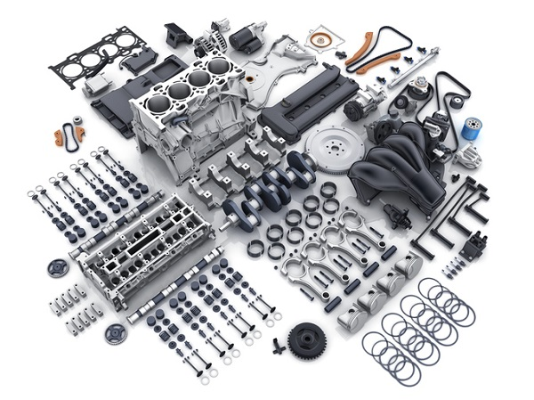 A complete rebuild requires replacing most of an engine's many parts