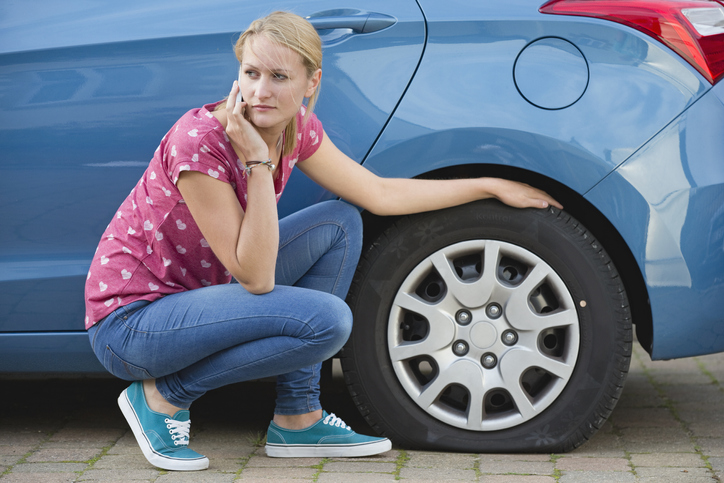 Changing a flat tire is a must-know for automotive service technicians