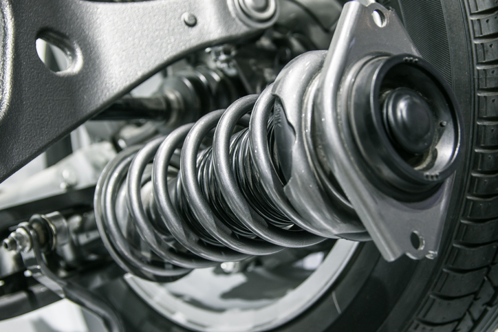 Shock absorbers help limit the car's movement when on uneven surfaces