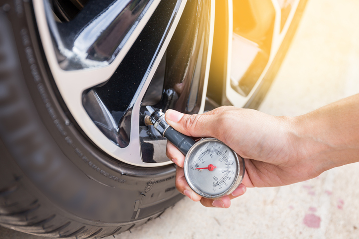 Insufficient tire pressure could lead to the tires blowing out