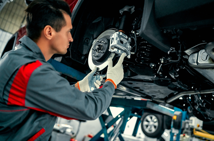 Mechanics should be contacted whenever issues such as loud noises or vibrations occur