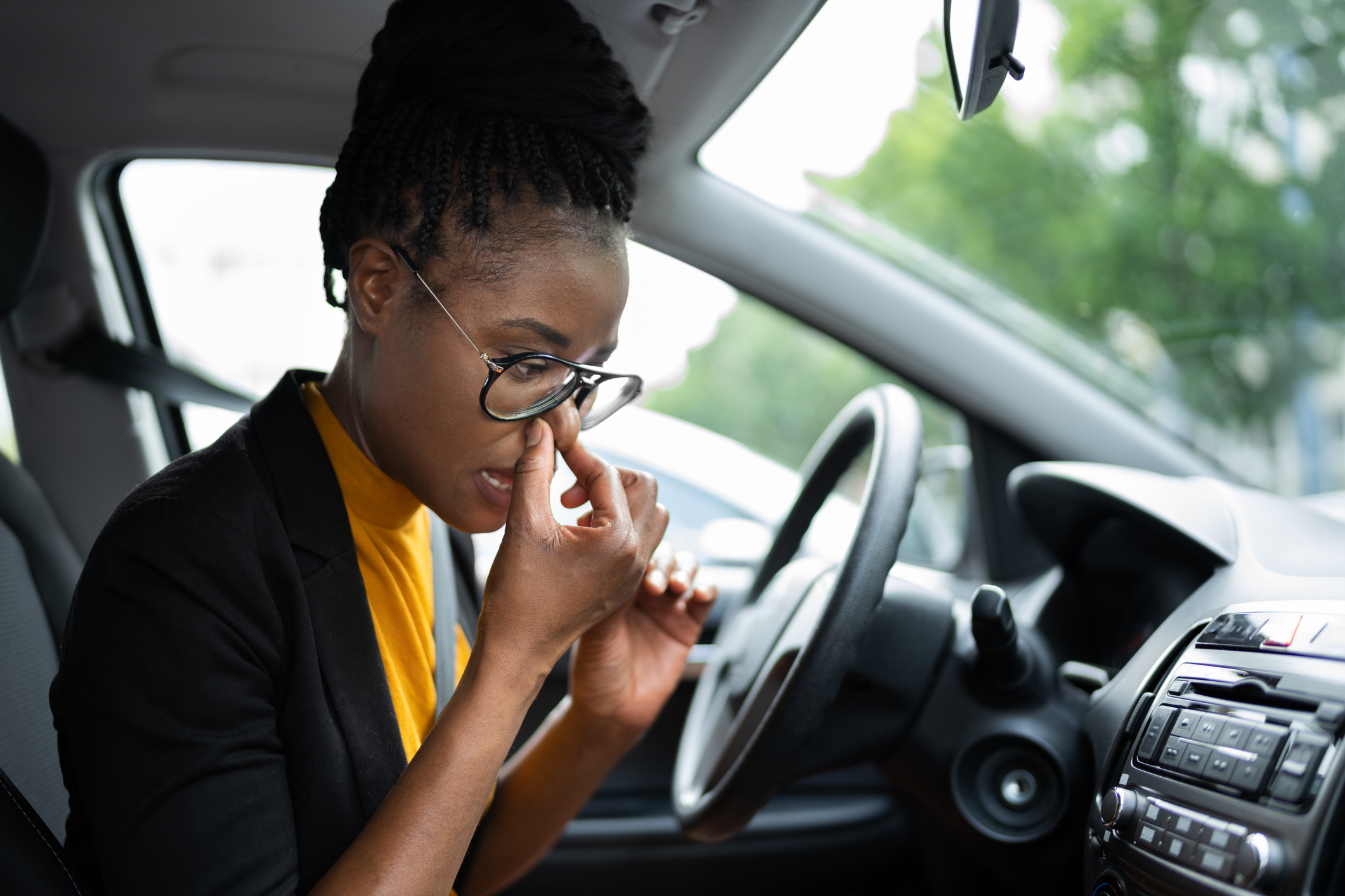 A burning smell can be a signal that a vehicle isn't shifting properly